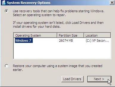 how to make partition in windows xp after installation